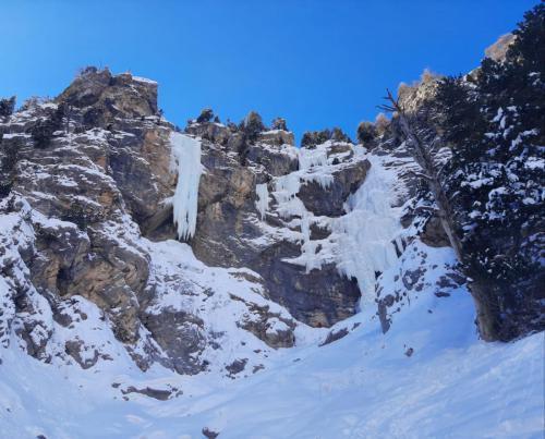 Cascade Val d'Escreins